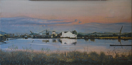 11th Street Mill Pond at Sunset
