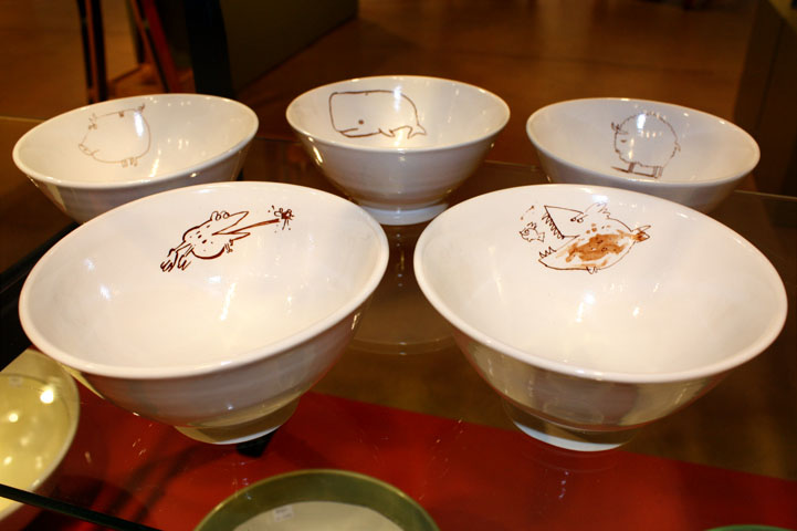 Bowls with Drawings