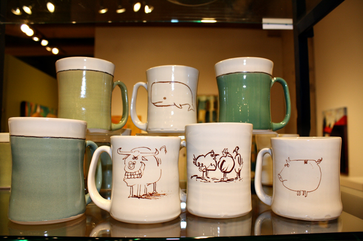 Mugs & Cups with Drawings
