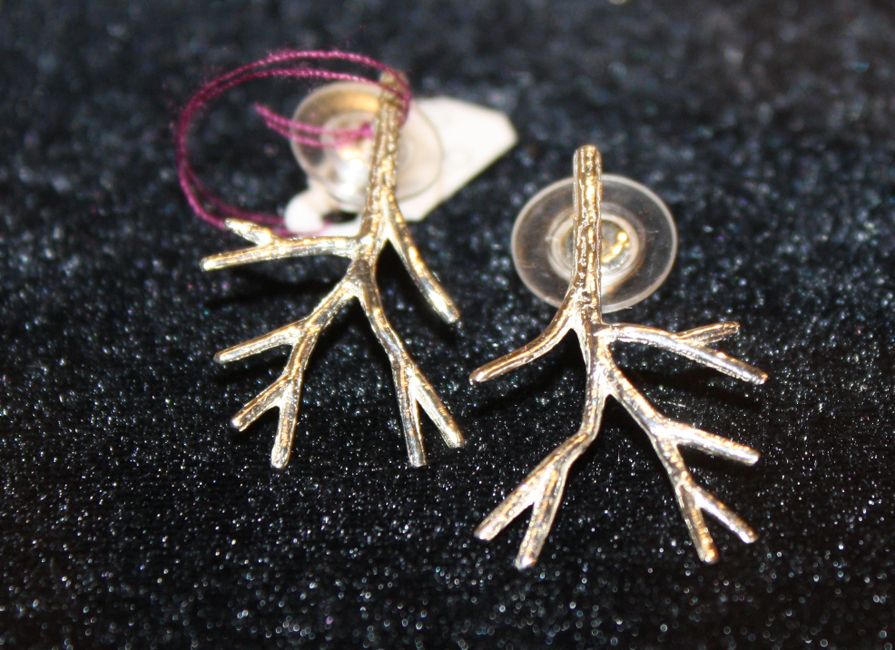 Small Branch Earrings