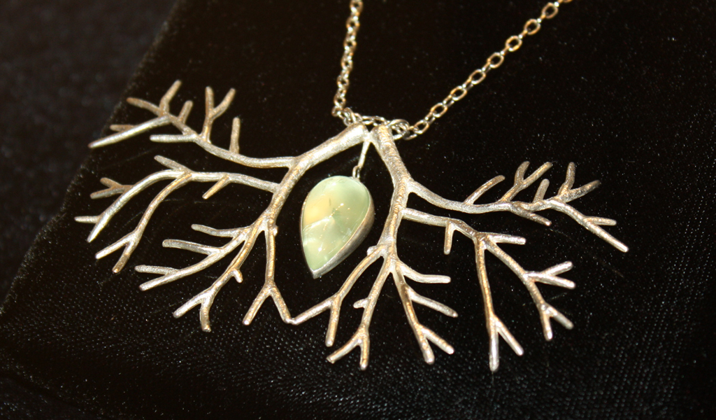 Double Tree Necklace