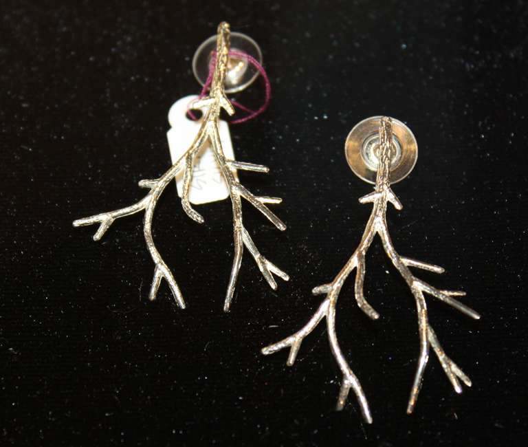 Large Branch Earring