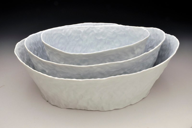 Stacking Oval Bowl